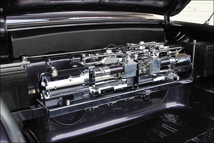 6 Degrees: Slam'd 64 Impala inside the trunk