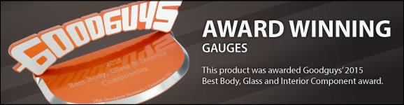 Award Winning Gauges