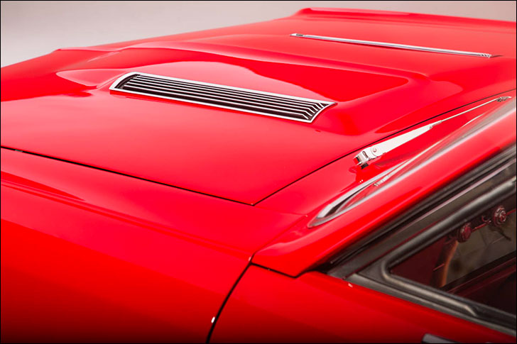 1967 Chevelle: American Muscle Cars Red