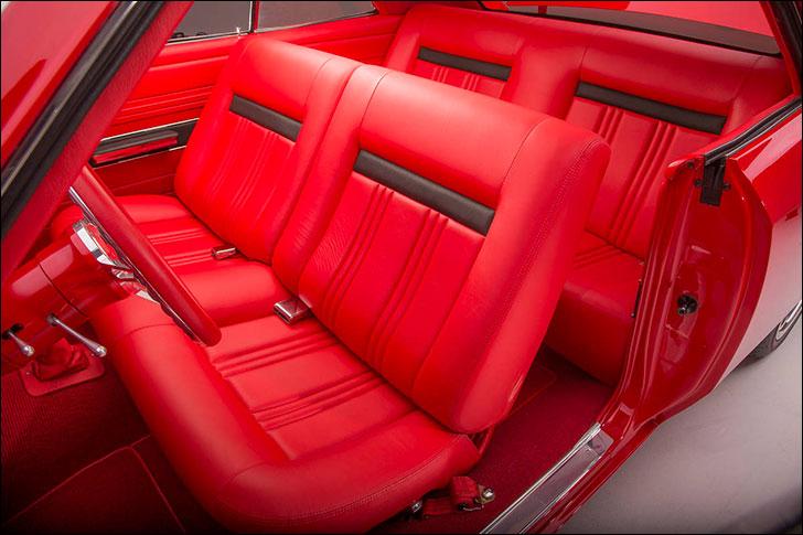 CCR 1967 Chevelle: Ron Mangus Upholstry Master