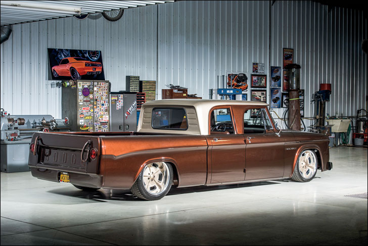 Lakeside Rods & Rides Dodge D-100: Flying Barn Door
