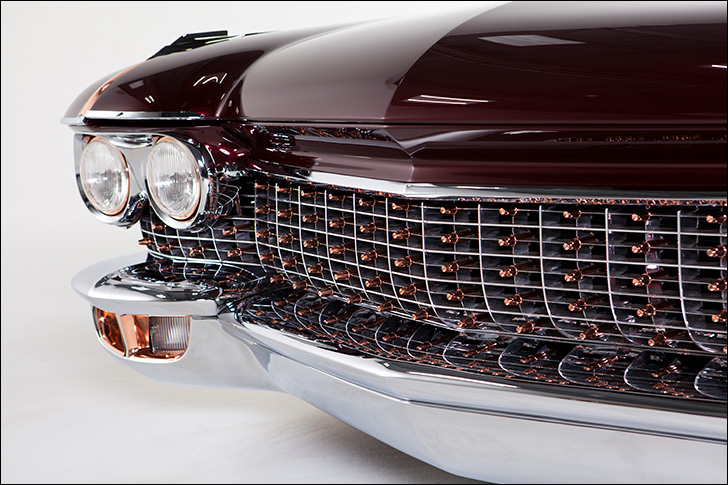 Kindig Copper Caddy: 50's Style Showcar