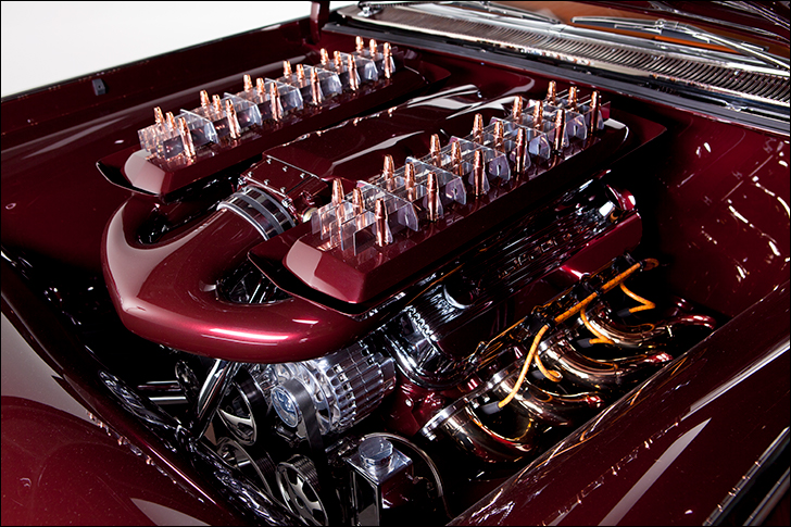 Kindig Copper Caddy: GM Performance ZL1 Engine