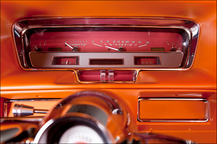 Kindig Copper Caddy: Dakota Digital Gauges