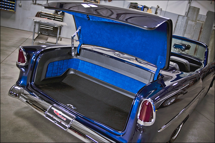 G3 Rods' '55 Chevy Bel-Air Convertible: trunk