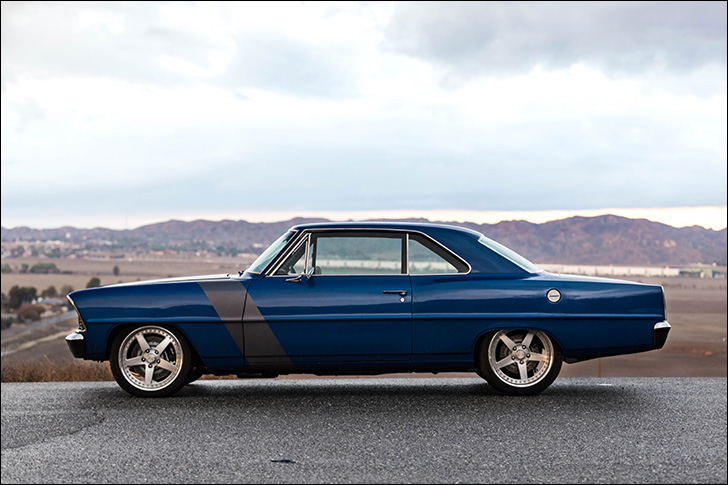 Jeff King '67 Nova: Custom upholstery from 1999 lives on