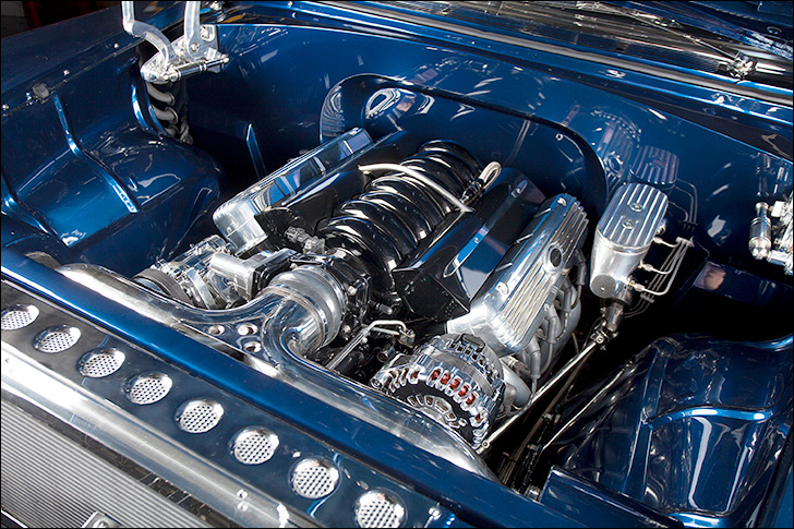 Hot Rod Dynamics '55 Nomad: 6.2L L99 Engine