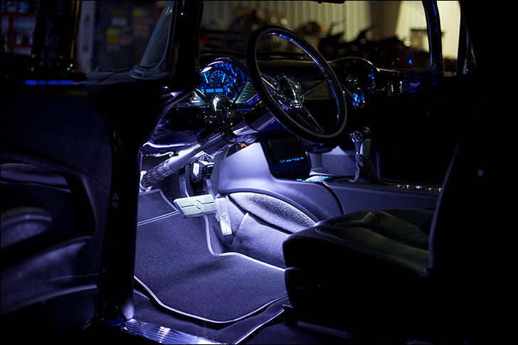 Hot Rod Dynamics '55 Nomad: Interior Glow