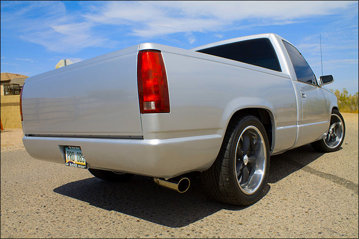 Travis Dulgerian's Pro Performance '90 Chevy: '98 Short Box