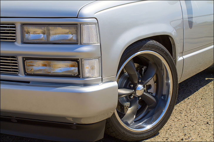 Travis Dulgerian's Pro Performance '90 Chevy: Improved ride quality
