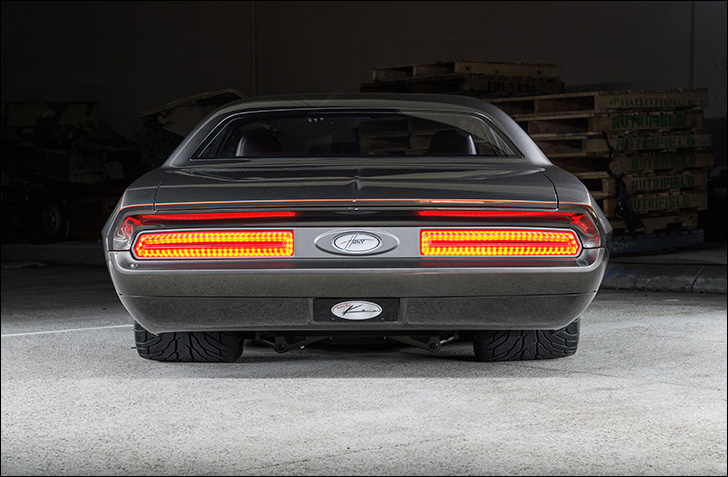 Havoc '70 Challenger: Rear