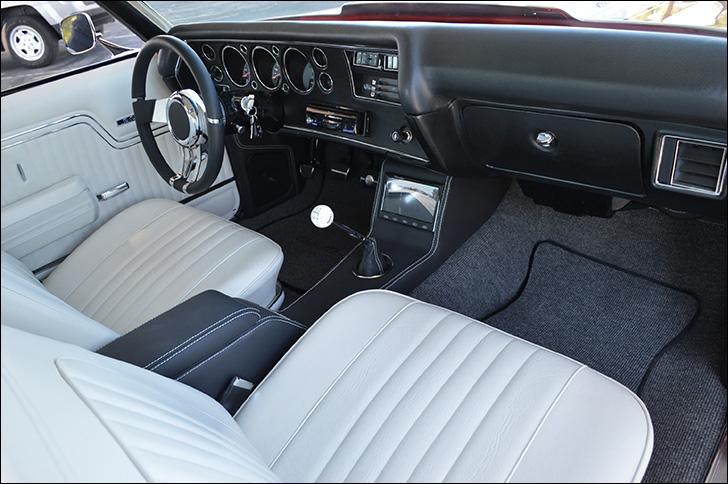 Charles McClendon '71 Chevelle: