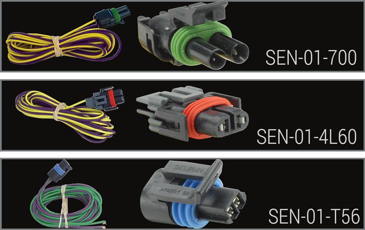 Speedometer 8k Pulse Generator. Sen01t56 Pigtail For GM T56 Transmissions W Vss. Wiring. 4l60e Vss Plug Wiring Diagram At Scoala.co