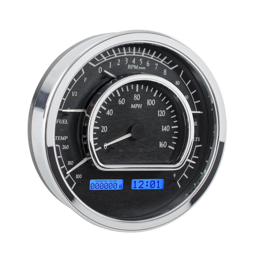 "VHX-1021: Universal Multi-Level 7.28"" Round, Analog Instrument"