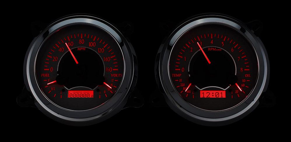 Custom Digital Gauges : Chevy gmc pickup vhx instruments