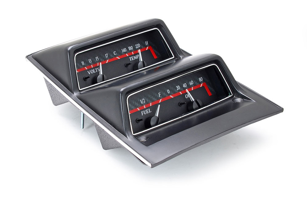 1969 Camaro With Console Gauges Vhx Instruments