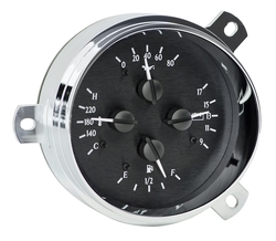 Black Alloy Background gauge detail.