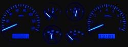 Blue Lighting at Night