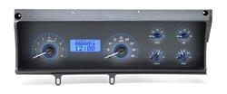 VHX-70C-MAL-C-B: Carbon Fiber Background, Blue Lighting
