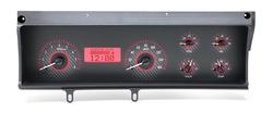 VHX-70C-MAL-C-R: Carbon Fiber Background, Red Lighting