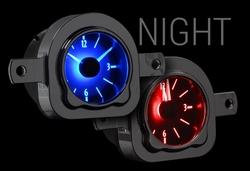VLC-51F: Analog Clock at Night