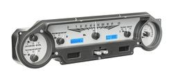VHX-64F-FAL-S-B: Silver Alloy Background, Blue Lighting