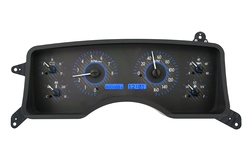 VHX-90F-MUS-C-B: Carbon Fiber Background, Blue Lighting