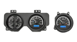VHX-70P-GTO: Black Alloy Background, Blue Lighting with Indicators shown.