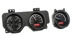 VHX-70P-GTO: Black Alloy Background, Red Lighting