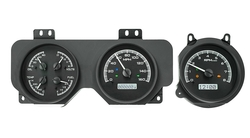 VHX-70P-GTO: Black Alloy Background, White Lighting with Indicators shown.