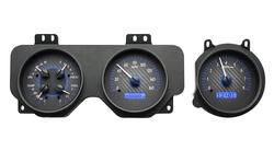 VHX-70P-GTO: Carbon Fiber Background, Blue Lighting