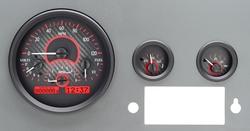 Carbon Fiber Background, Red Lighting
