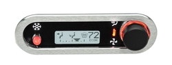 DCC-2500H-S-W: Brushed/ Satin Bezel, White Lighting