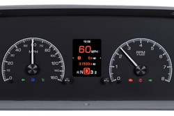 HDX-60C-PU-K: Black Alloy Background with Indicators shown.