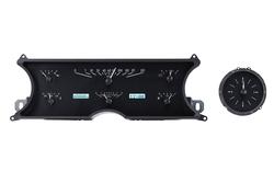 VHX-65C-CAD-K-W: Black Alloy Background, White Lighting