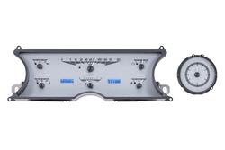 VHX-65C-CAD-S-B: Silver Alloy Background, Blue Lighting
