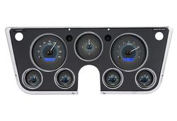 VHX-67C-PA: Carbon Fiber Background, Blue Lighting