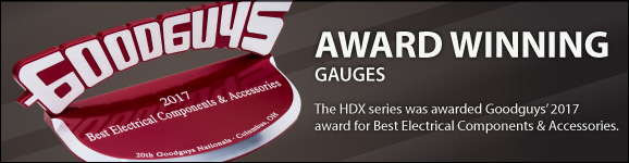 2017 Goodguys' Award for HDX