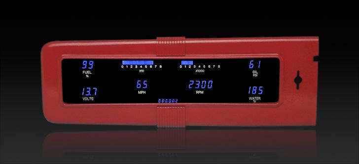 1940 Chevy Original Bezel Digital Instrument System
