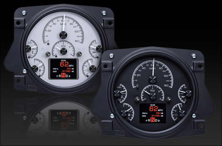 1966- 77 Ford Bronco HDX Instruments