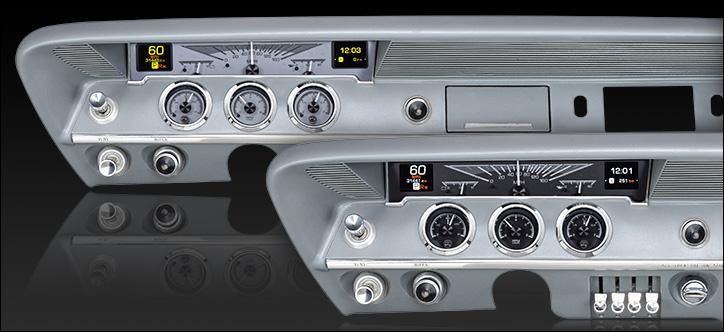 1961- 62 Chevy Impala HDX Instruments