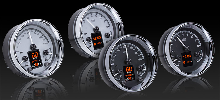 "HDX-2014: Universal Dual 5.4"" Round, Analog HDX Instruments"