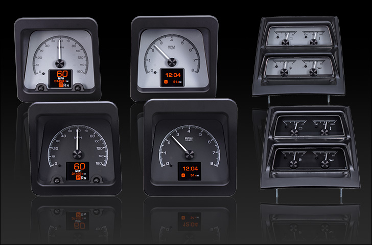 1969 Camaro with Console gauges, HDX Instruments