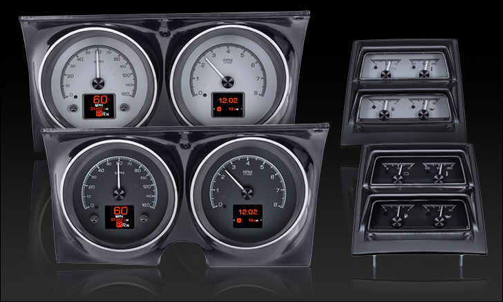 1968 Camaro with Console gauges HDX Instruments