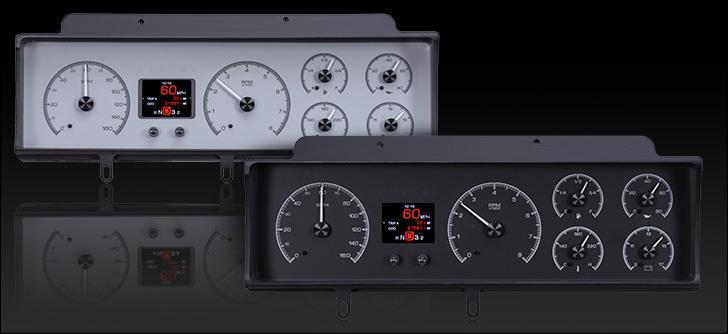 1970- 72 Chevy Malibu/ non SS Chevelle/ El Camino  HDX Instruments