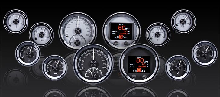 HDX-2060: Universal 6 Gauge Round, Analog  HDX Instruments