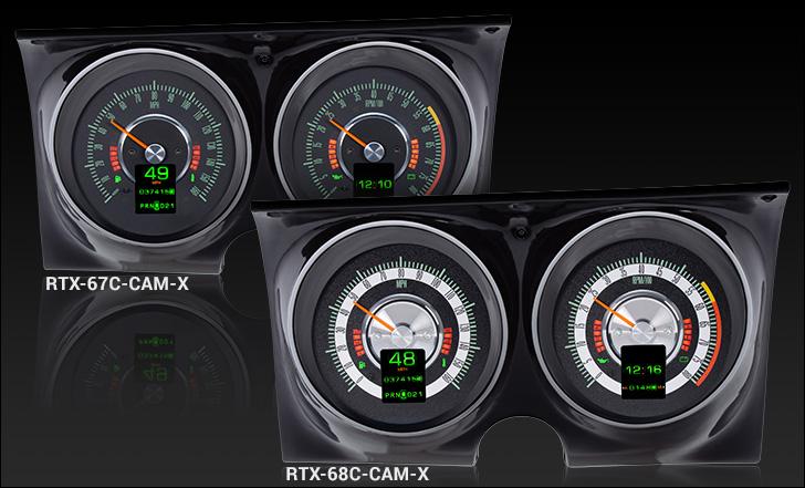 67-68 Camaro Firebird Dash Instrument Housing *In Stock* plastic guage bezel