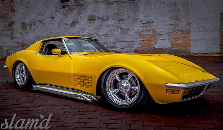 Steve Grybel 1972 Corvette