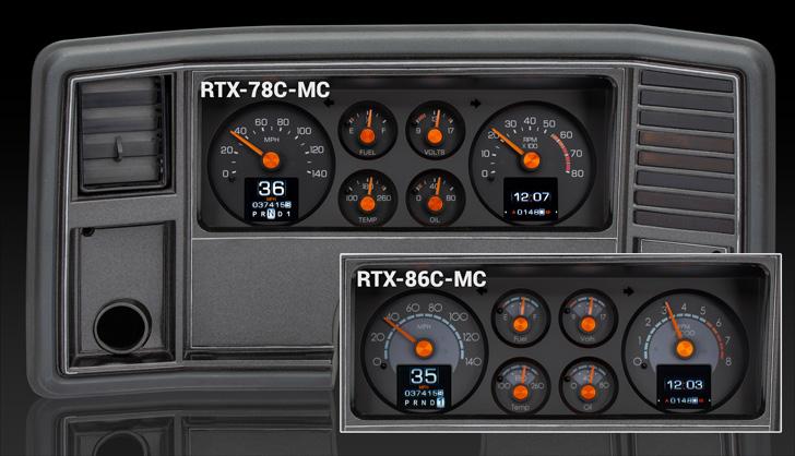 1978- 88 Chevy Monte Carlo, 1978- 87 Chevy El Camino/ Malibu/ Caballero RTX Instruments