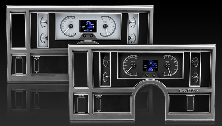 1984- 87 Buick Regal and Grand National HDX Instruments